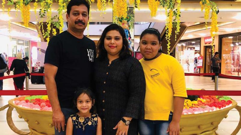 Libas and her family