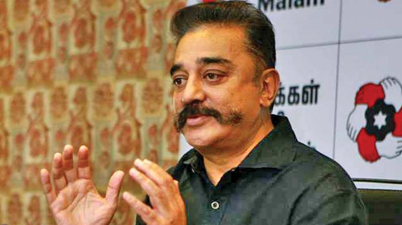 A police complaint was also filed against the actor-politician on Monday in Aravakurichi over his comments. (Photo: file)