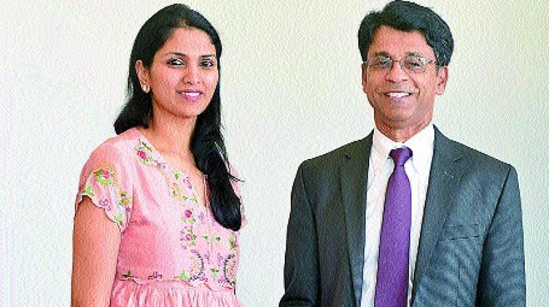 Deepti Reddy and Prakash Nair