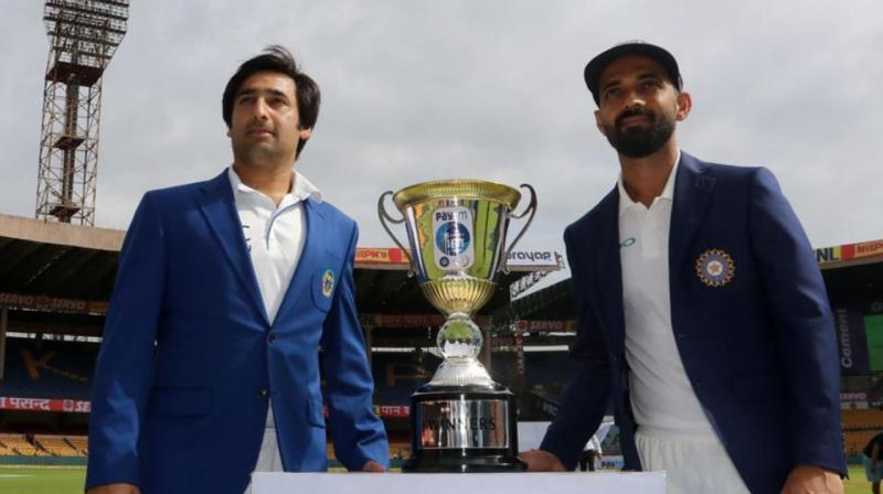 """Today cricket is unifying force for the people of Afghanistan, India takes pride in being shoulder-to-shoulder with Afghanistan in this journey,"" said the PM Narendra Modi's message which was read out by sports minister Rajyavardhan Singh Rathore. (Photo: BCCI)"
