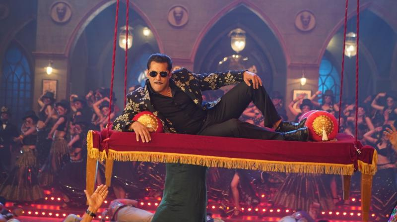 Salman Khan in the still from Munna Badnaam.