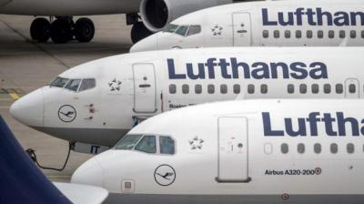 . This will be in addition to Lufthansa's current schedule of 56 weekly international flights to and from the major Indian hubs of Delhi, Mumbai, Bangalore and Chennai with ultra-modern aircraft like the Airbus A350. (Photo: AFP)