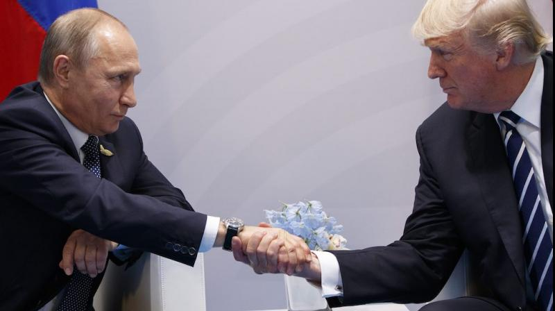 Vladimir Putin was speaking at the G20 summit in Osaka where he met US President Donald Trump to discuss issues ranging from trade to disarmament. (Photo: AP)