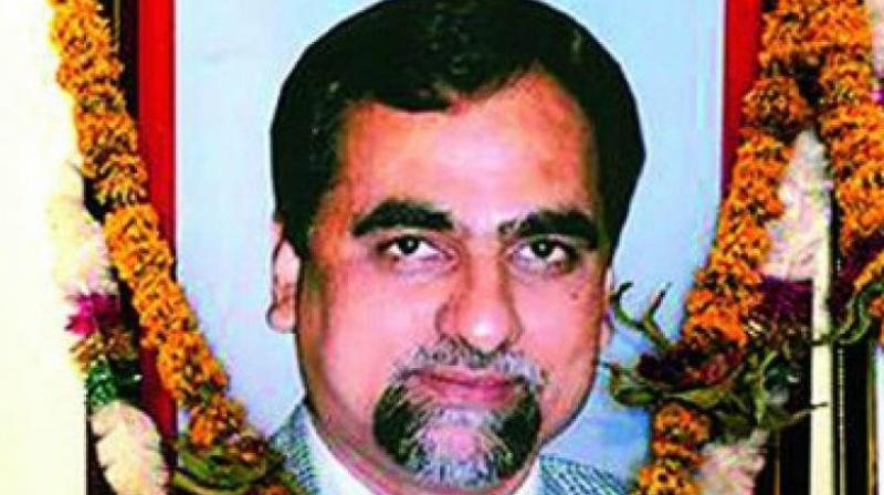 Judge Loya, who was hearing the Sohrabuddin Sheikh case, died of cardiac arrest in Nagpur on December 1, 2014, when he had gone to attend the wedding of a colleague's daughter. (Photo: Facebook)