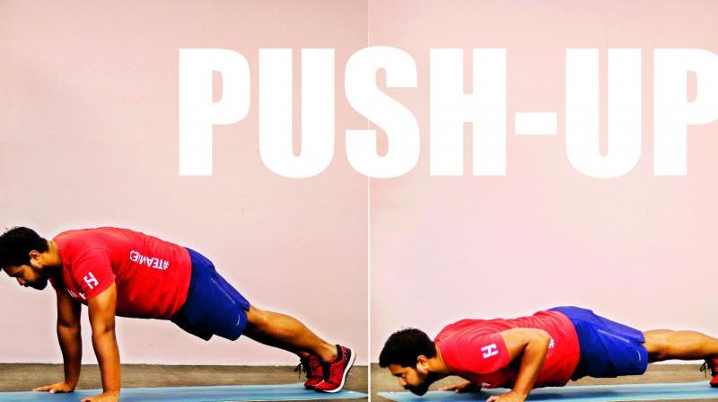 Push-ups.