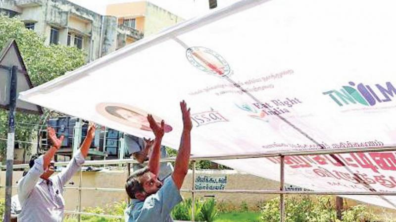 Is banning banner culture not an easy task in Tamilnadu?