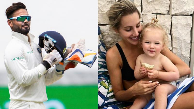 Tim Paine's Wife Seeks Rishabh Pant for Babysitting Duties Again!