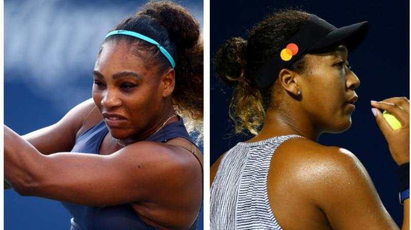 Serena Williams and Japan's Naomi Osaka booked a rematch of last year's US Open final in the WTA Toronto quarter-finals after straight-set triumphs on Thursday. (Photo:AFP)