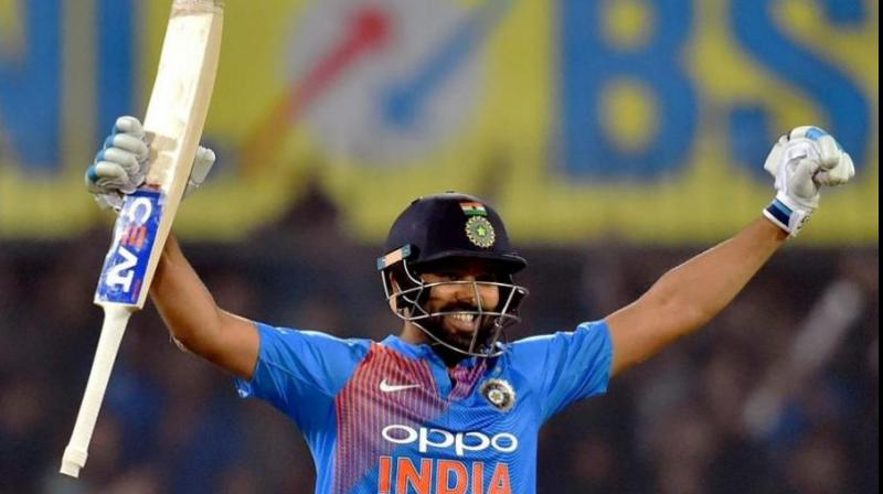 Rohit Sharma becomes first Indian man to feature in 100 T20 internationals