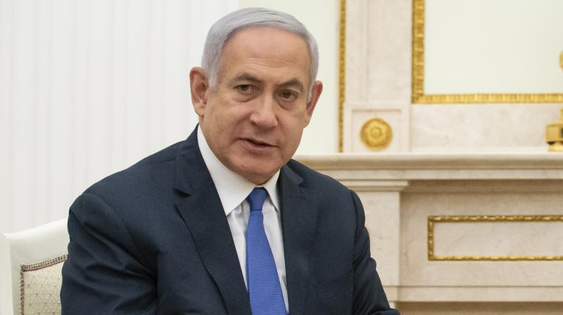 """The announcement came after 60-year-old Gantz said he intends to form and lead a """"broad, liberal, unity government."""" """"After an election that was forced on Israel, (people) voted and made a clear choice. The people voted for unity and Kahol Lavan won the election. It's the biggest party,"""" he added.  (Photo:AP)"""