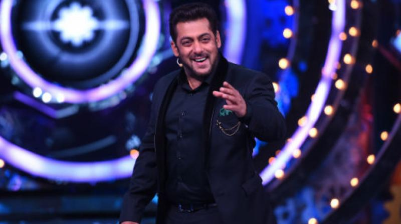 Salman Khan as host on 'Bigg Boss'.