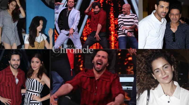 B-Town was rightly filled with stars in Mumbai throughout the day on Tuesday who were clicked by the shutterbugs. (Photos: Viral Bhayani)