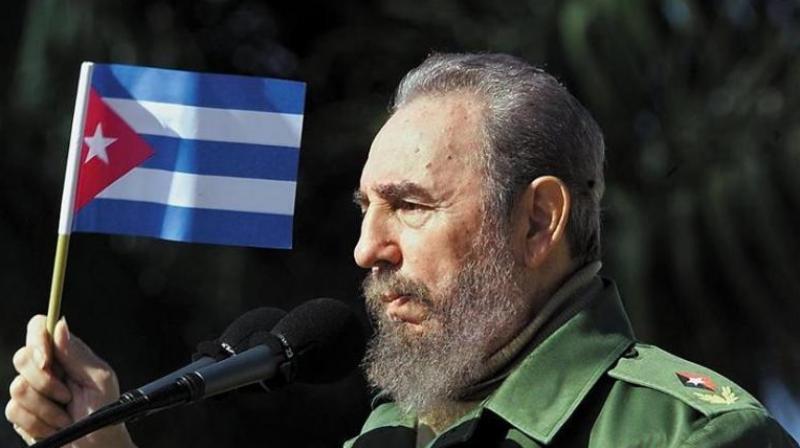 Late Cuban leader Fidel Castro. (Photo: AP)