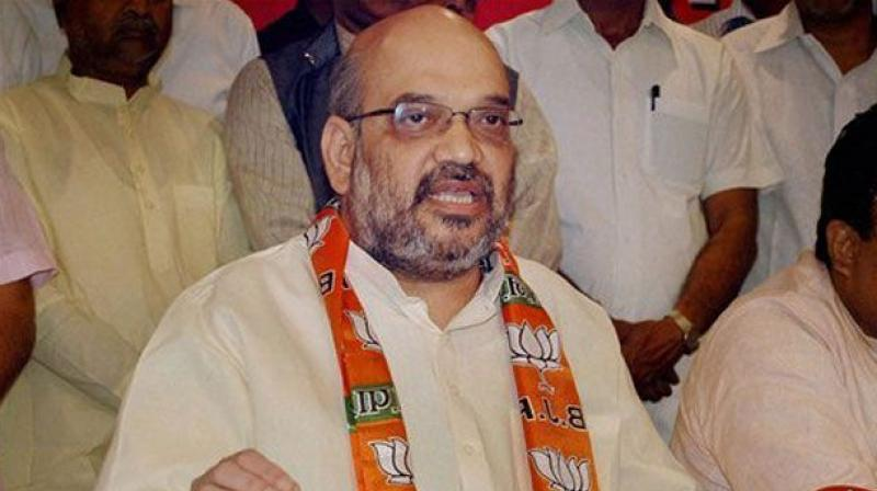 BJP national president Amit Shah. (Photo: File)