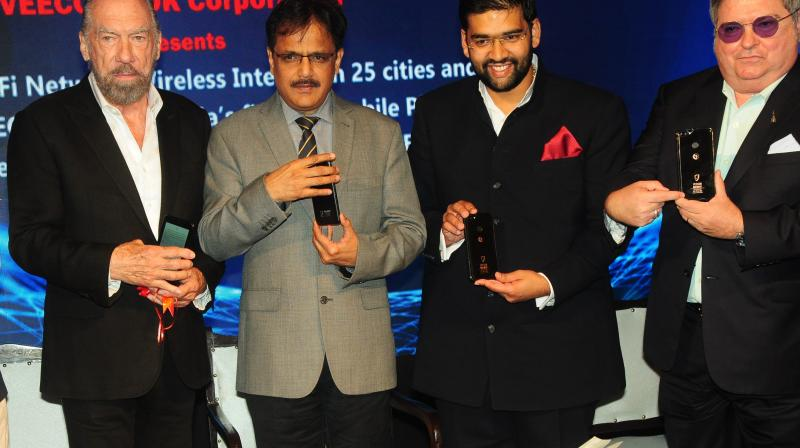 The company to invest over $5 billion in India for the Wi-Fi project in the next three to five years.