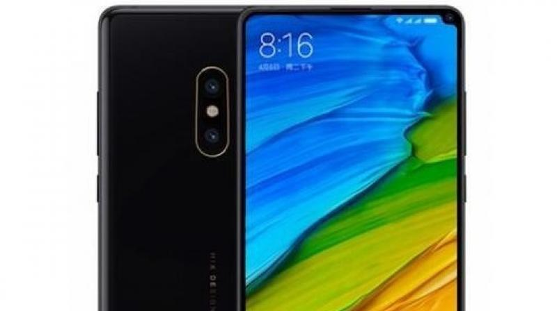 Mi MIX 2S renders show an iPhone X-beating bezel-less design