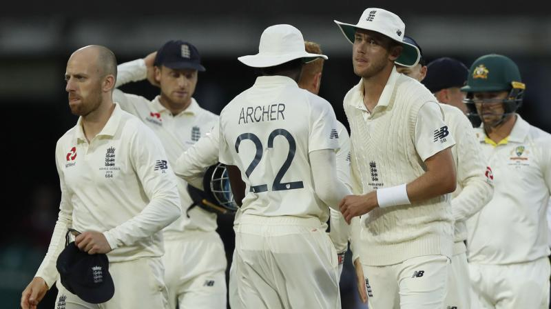 Australia are still on a 1-0 lead in the Ashes as they registered a massive 251-run victory in the first Ashes Test. (Photo: AP)