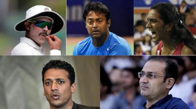 From Morgan-Sehwag to Bhupathi-Paes, incidents that irked sportstars.(Photo: AP / PTI)
