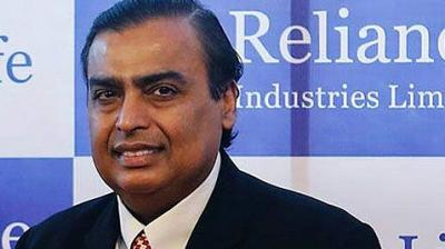 Billionaire Mukesh Ambani.