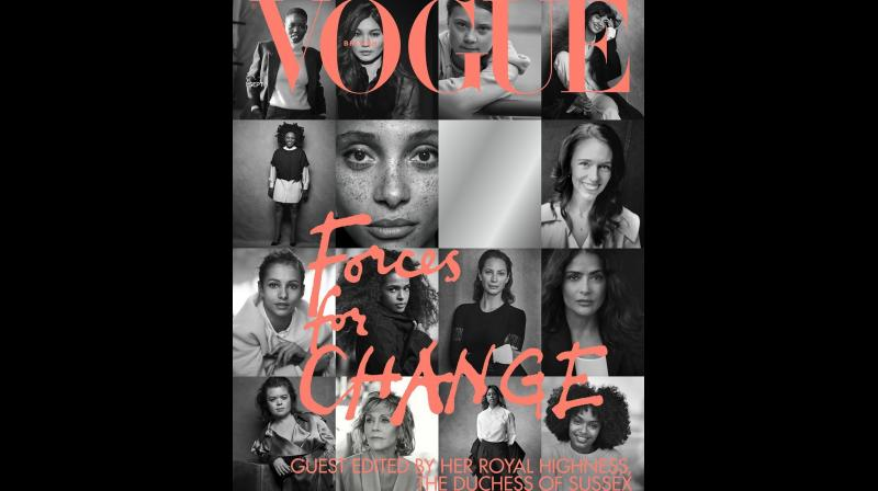 The women for the cover story were chosen on the basis of their support to various causes like climate change, wellness and mental health. (Photo: Instagram)