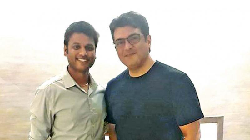 Ajith with Kuttraleeswaran
