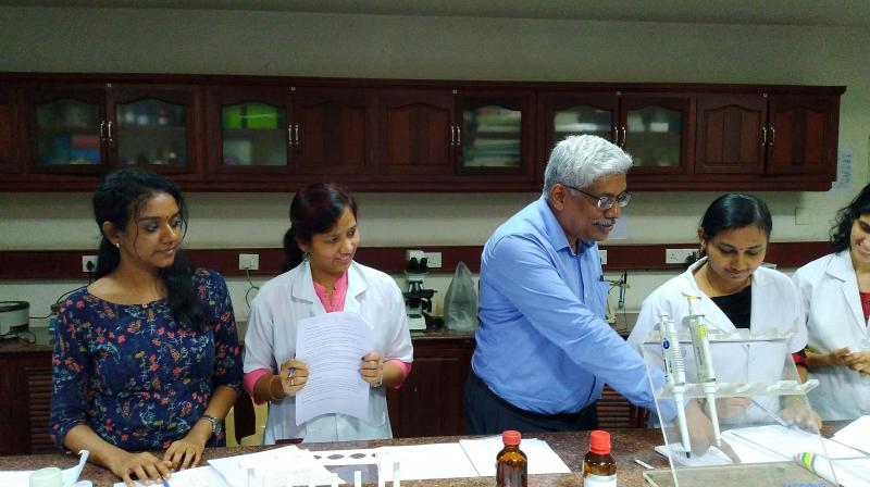 Researchers at a two-week short term training course (STTC) in Real Time PCR Technology at SIBBR&D.