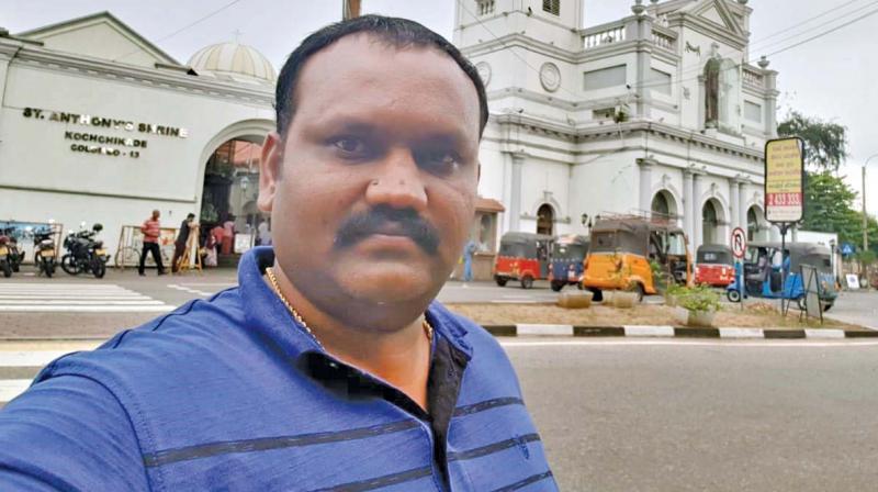 Rajeev Fernando in Colombo recently.(Photo: DC)