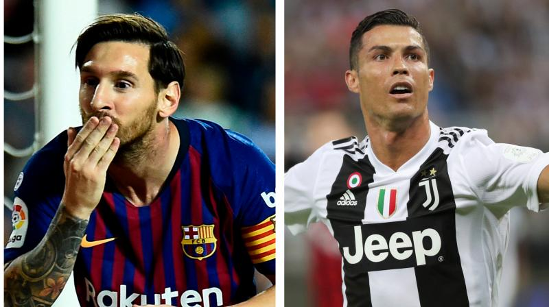 Portuguese star Ronaldo, whose influence at Real Madrid mirrored that of Messi at Barcelona before he left for Juventus, admitted that the pair have never socialised together. (Photo: AFP/PTI)