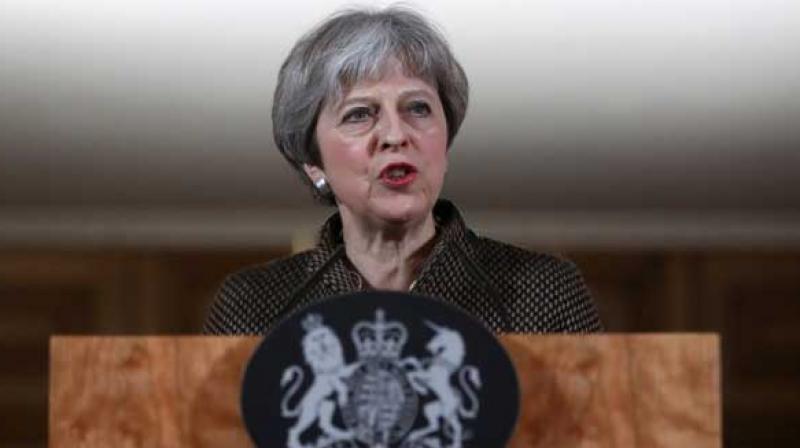 British Prime Minister Theresa May  (Photo: AFP)