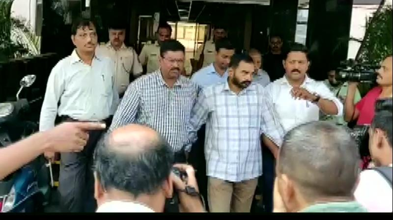 A lawyer and a right-wing activist arrested for allegedly helping in destruction of evidence in the Narendra Dabholkar murder case were sent to CBI custody till June 1 by a Pune court on Sunday. (Photo: Twitter/ ANI)