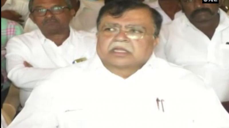 Congress leader KN Rajanna. (Photo: ANI)
