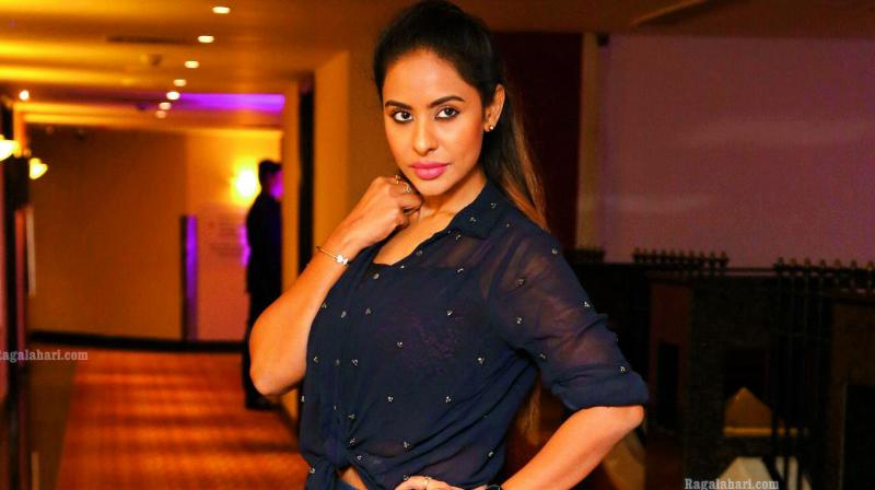 Telugu actress Sri Reddy created a stir by resorting to strip protest against casting couch in the Telugu Film Industry in front of the office of Telugu Film Chamber of Commerce on April 7. (Photo: File)