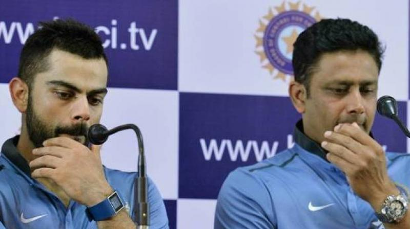 Anil Kumble, who earned the reputation of a hard taskmaster, quit as India coach in June under controversial circumstances, citing his untenable relationship with India captain Virat Kohli. (Photo: AFP)