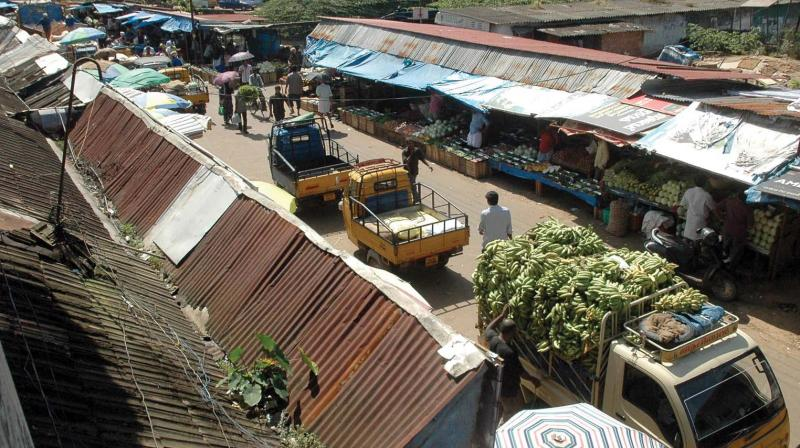 File picture of Ernakulam market. (Photo: DC)