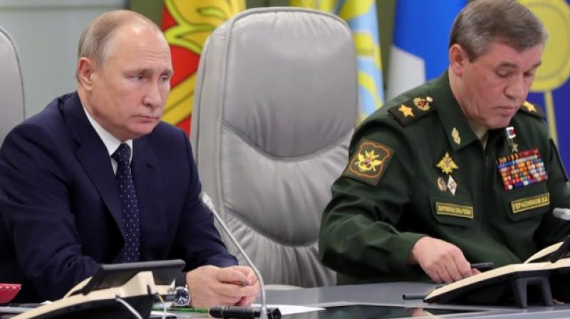 Putin said the Avangard will enter service with the Russian Strategic Missile Forces next year.