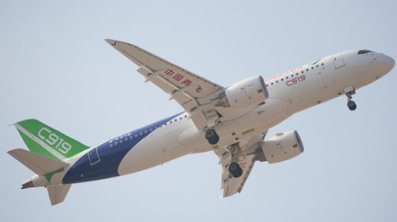 The C919 has dozens of customers that have placed orders and commitments for 815 jets. (Photo: COMAC)