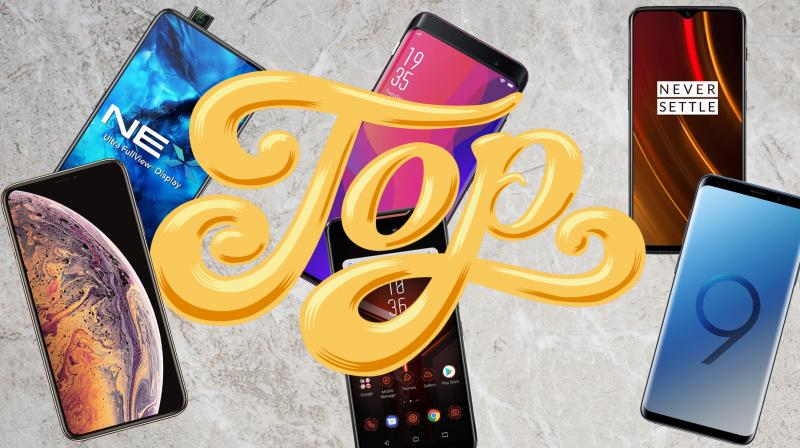 From the iPhone XS to the Vivo NEX; the top smartphones launched this year!