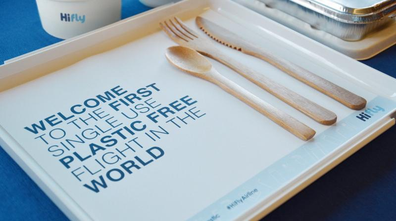 More test runs like these will see plastic containers and cutlery replaced with more natural bamboo cutlery.