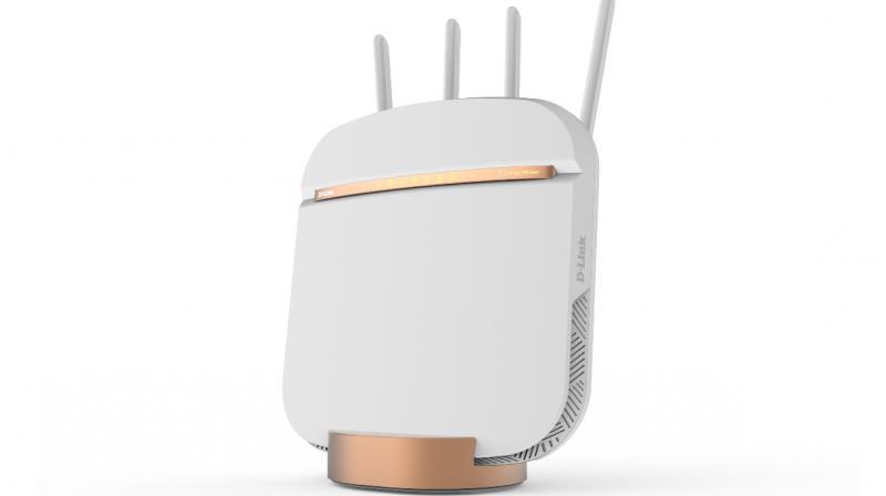 D-Link's DWR-2010 is a 5G NR Enhanced Gateway that provides 5G internet connectivity through an 802.11ac/n wireless network.