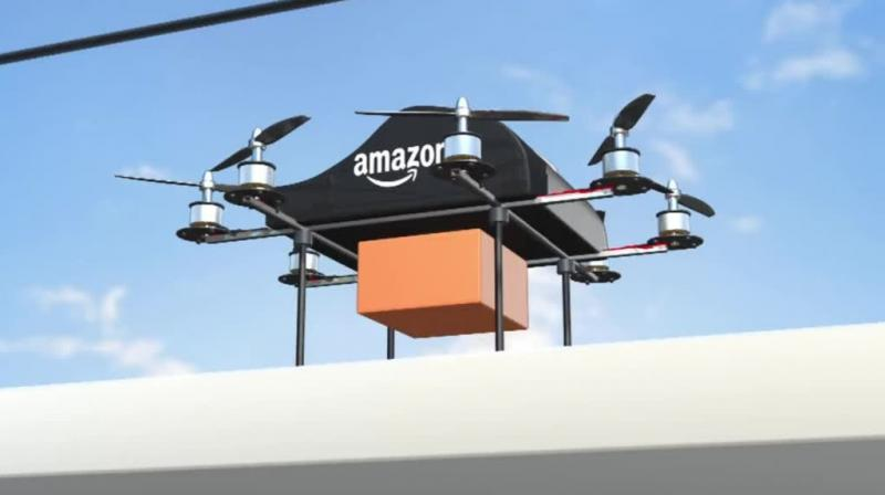 Wilke did not say where customers might see the drone in action, but Amazon made its first customer delivery by drone in the United Kingdom in 2016.