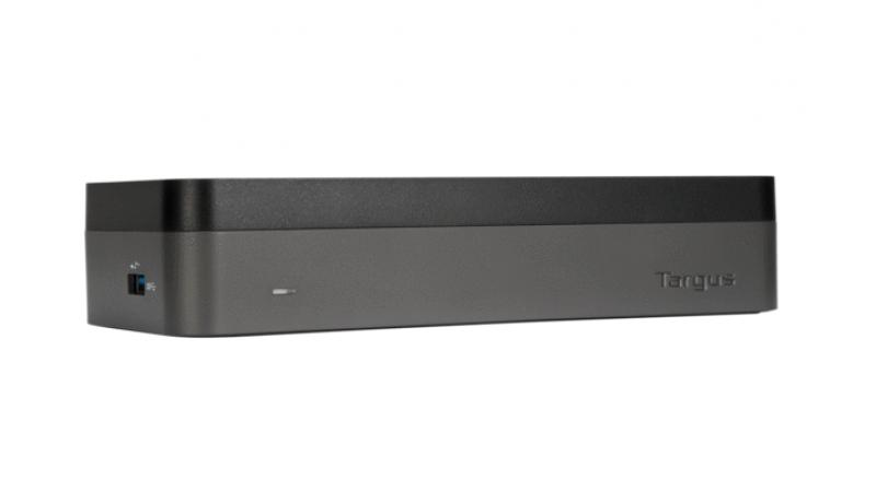 A CES 2019 Innovations Awards Honoree, the USB-C Universal Quad Video HD Docking Station (DOCK520USZ) allows a laptop to connect to up to four monitors via (4) HDMI video out ports.