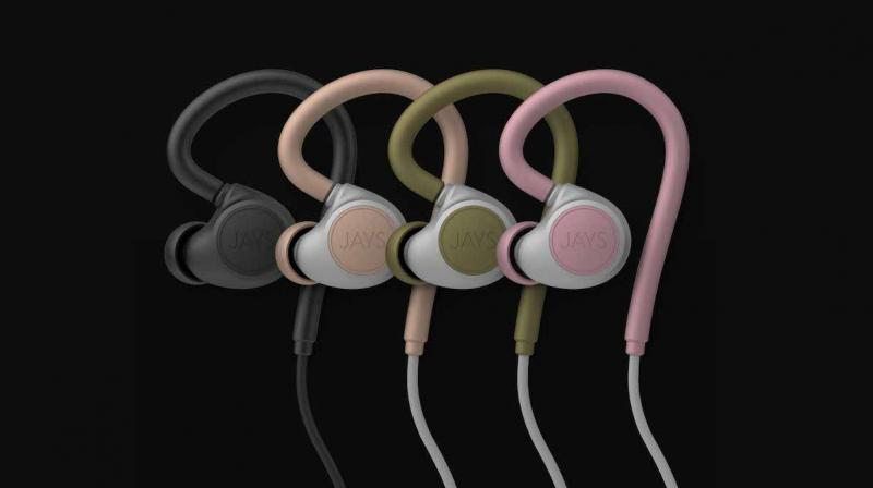 The electronics inside m-Six are made to be as small as possible to fit everything in the right earphone side.