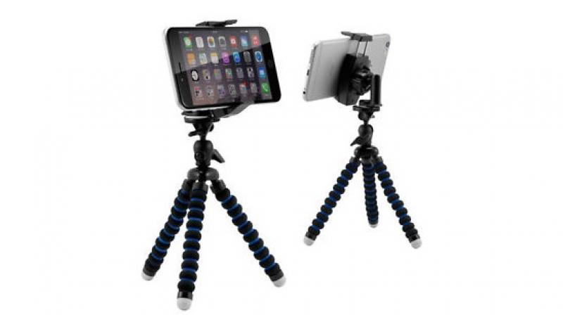 Mobile tripods range from Rs 500 to Rs 3,000.