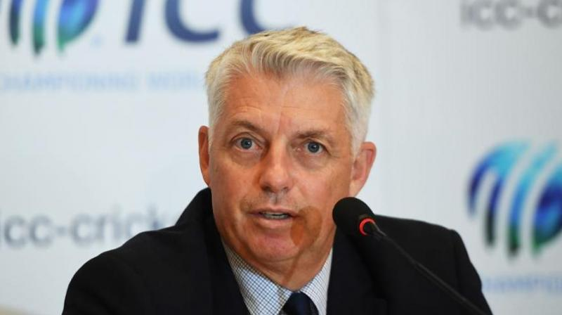 International Cricket Council CEO Dave Richardson on Monday said he doesn't forsee any threat to the high-profile India-Pakistan World Cup match, insisting that the two teams are bound by an ICC agreement to show up. (Photo: AFP)