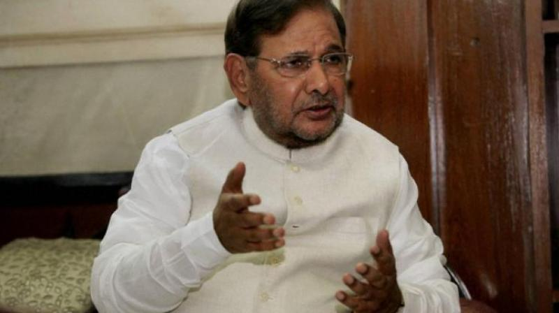 In April, supporters of Sharad Yadav announced the formation of the Loktantrik Janata Dal (LJD), a new political outfit. (Photo: File/PTI)
