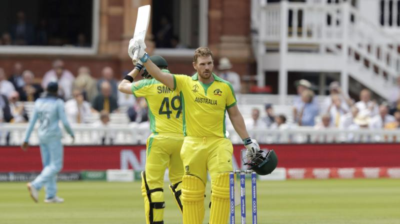 Icc World Cup 2019 Aaron Finch Enters Lord S Honours Boards