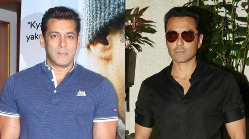 Race 3 Salman Khan Keen On Reviving Bobby Deols Career