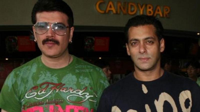 Salman Khan and Aditya Pancholi.