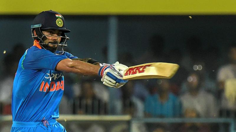 Kohli surpasses Sachin, becomes fastest to score 10000 ODI runs