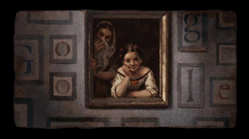 Google celebrates 400 years of Spanish Baroque painter Murillo with a doodle